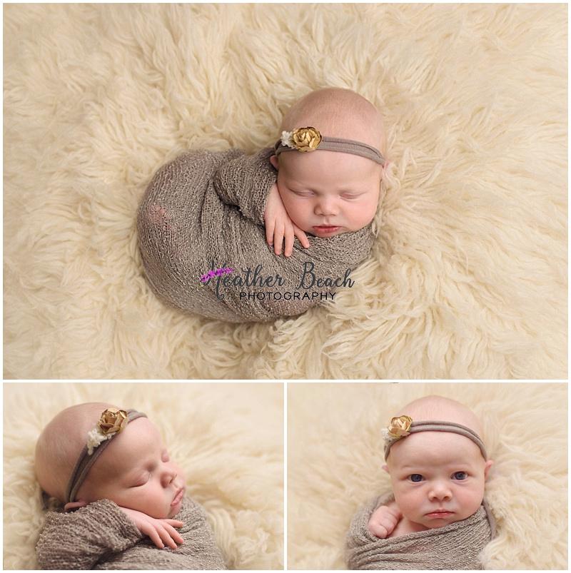 Sun Prairie studio, newborn, baby girl, Sun Prairie photographer