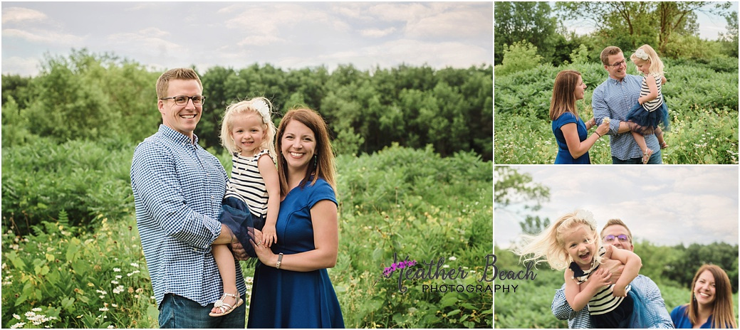 Sun Prairie family photographer, Madison family photographer, 3-year old, family of 3