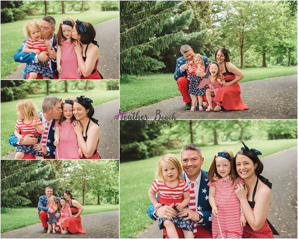 family of 4, , family pictures, park, Sun Prairie family photographer, Sun Prairie portrait photographer, Madison family photographer,