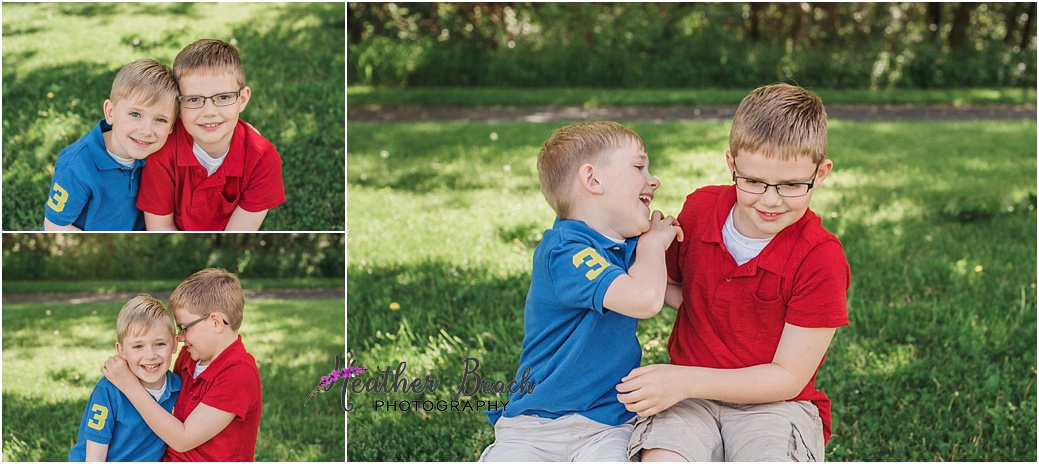 siblings, park, Sun Prairie family photographer, Sun Prairie children photographer, Madison family photographer, brothers