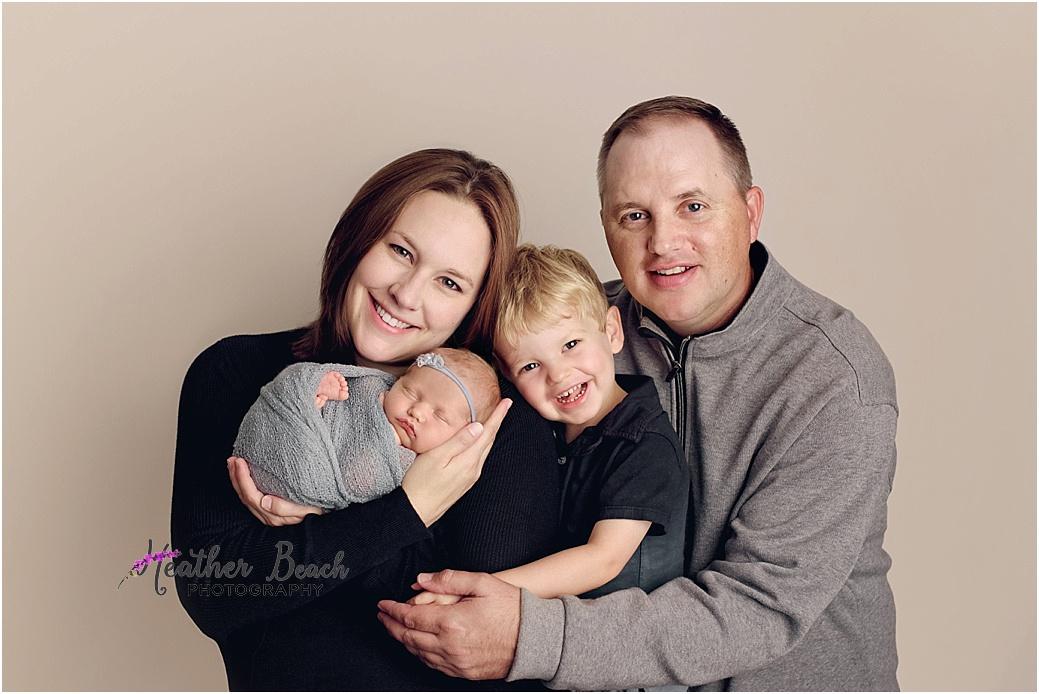 Sun Prairie newborn photography, Madison newborn photography, newborn with mom, newborn with parents, newborn photography
