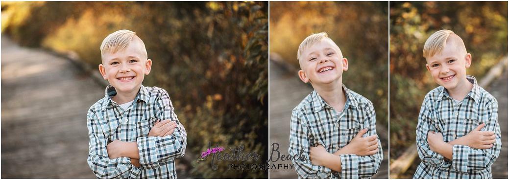 boy, Sun Prairie child photography, Madison child photography, portrait photography, golden hour, field, boardwalk, Token Creek Park