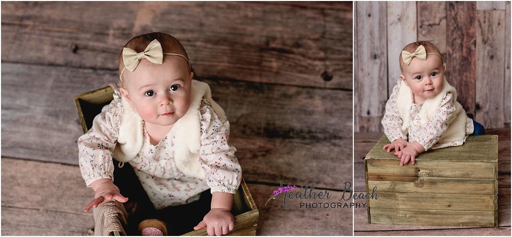 Sun Prairie baby photographer, Madison baby photographer, baby photography, Sun Prairie studio photography, chair, cute baby, child photography, Sun Prairie portrait photographer, Madison portrait photographer