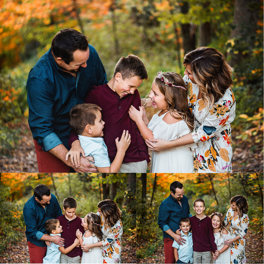 Fall family photography, family of 5, Sun Prairie family photographer, family photography, Devil's Lake