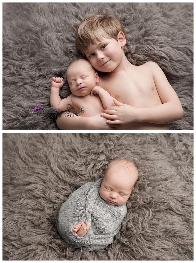 newborn, siblings, brothers