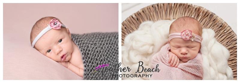 newborn baby, newborn girl, Sun Prairie newborn photographer