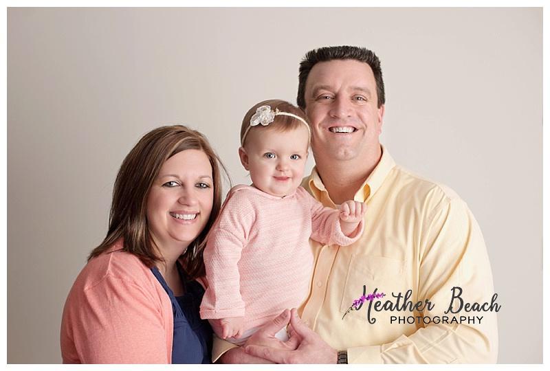 family of 3, Sun Prairie baby photographer