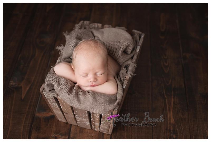 newborn, boy, basket
