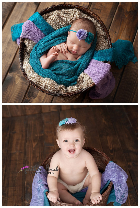 newborn, one year, grow, Sun Prairie baby photographer