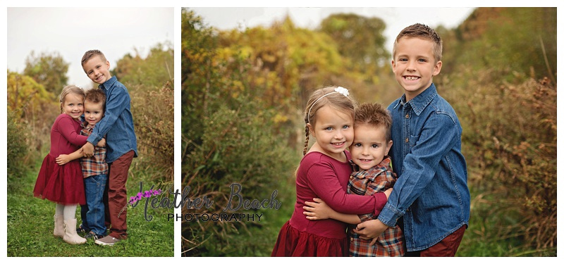 Sibling photos, outside photography, fall session, Sun Prairie, WI, Madison WI photographer