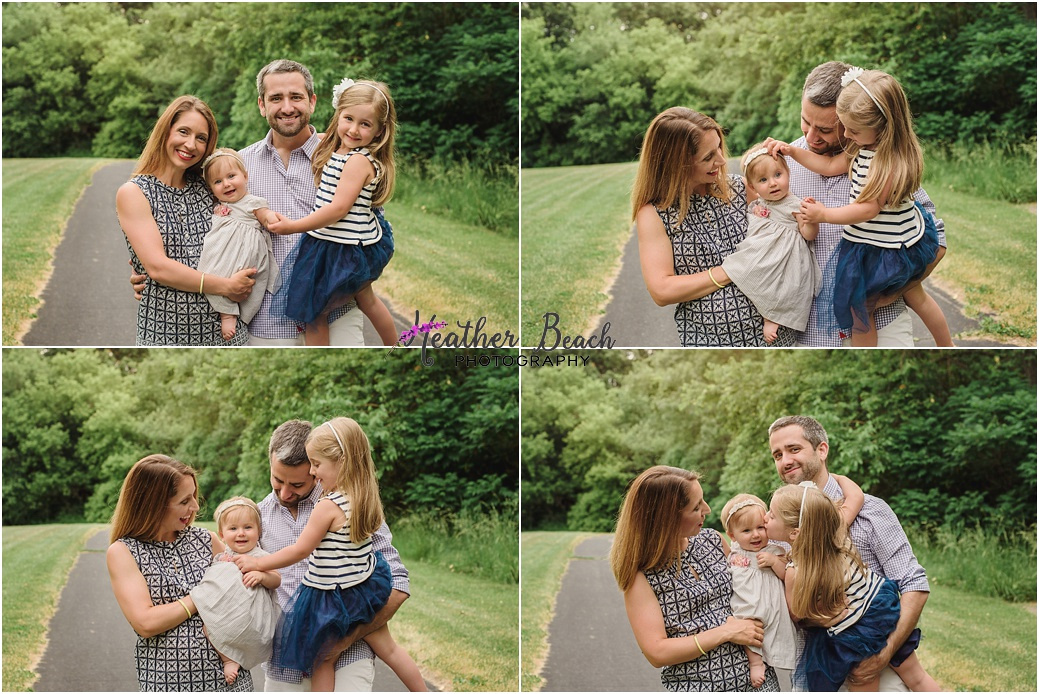 Sun Prairie family photographer, Madison family photographer, family of 4, children's photography, sisters