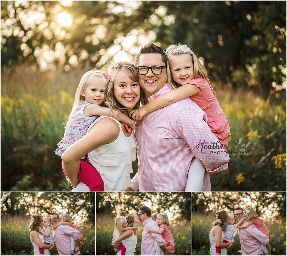siblings, sisters, family of 4, Sun Prairie family photographer, Madison family photographer, Sun Prairie portrait photographer, family photography, outdoor family pictures