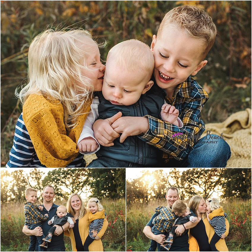 Sun Prairie family photographer, Madison family photographer, Sun Prairie, WI photographer, family of 5, fall photos, child photography, Sun Prairie baby photographer