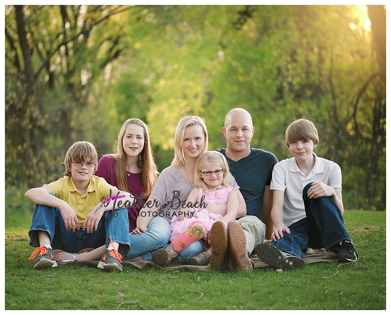 family photo session, Sun Prairie Wisconsin