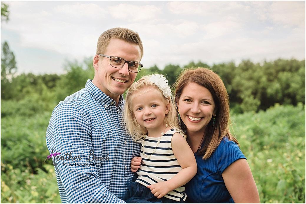 Sun Prairie family photographer, Madison family photographer, 3-year old, family of 3